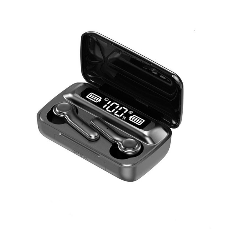 R7S Wireless 5.0 Headphone Touch Control Sports Waterproof new Earphone HiFi 9D Bass Stereo Headset With Microphone - idealBuds Earphone | idealBuds.net