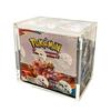 Clear Pokemon Booster Box