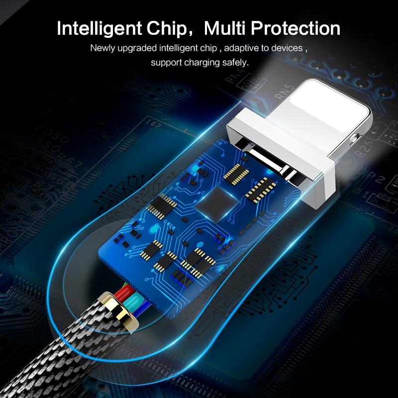 Usb-кабель для зарядки и передачи данных в нейлоновой оплетке, 1 м