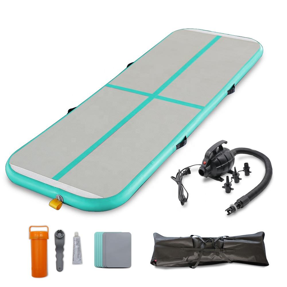 Изготовление размеров под заказ рушясь 3/4/5/7 м воздушный сушильный трек новый дизайн йога спортивный гимнастический коврик надувная лодка