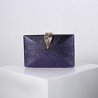 Hand Clutch Clutch New Factory Outlet Wholesale Luxury Ladies Leaf Clasp Chains Hand Clutch Bags
