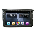 Factory 8 Inch Android 9 FM AM Radio Car GPS Bluetooth Autoradio 2 Din Car Video For VW Polo Jetta Golf Passat