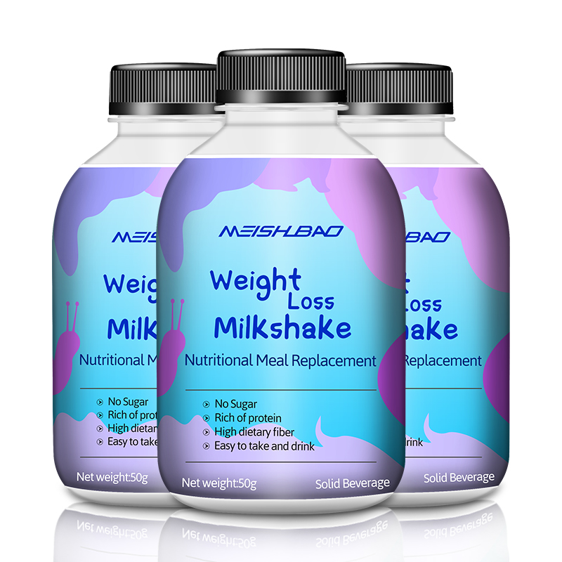 Manufacture meal replacement shake, slimming meal replacement milk shake powder