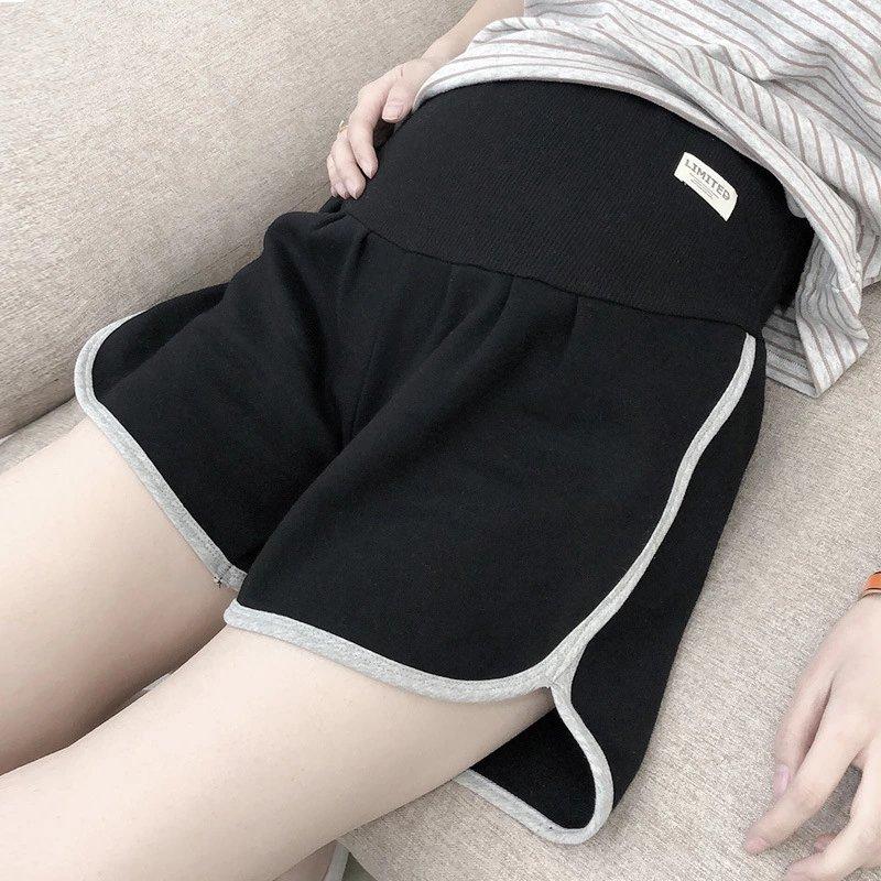 Роскошные 9333PP летние шорты с эластичным поясом Одежда для беременных