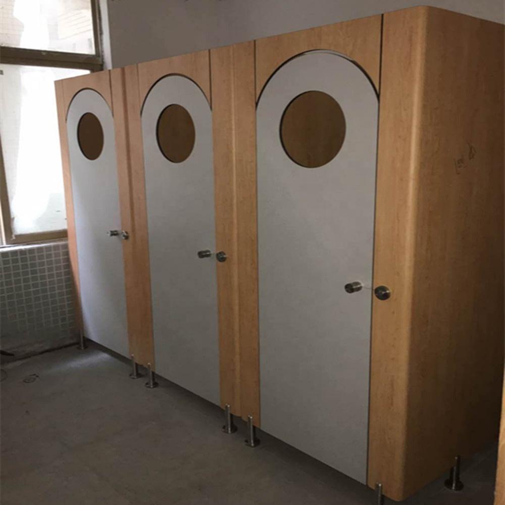Лидер продаж водонепроницаемый 25 мм hpl Туалет Стены Перегородки дешевые обычай модели Туалет отсеков с 5 лет гарантии