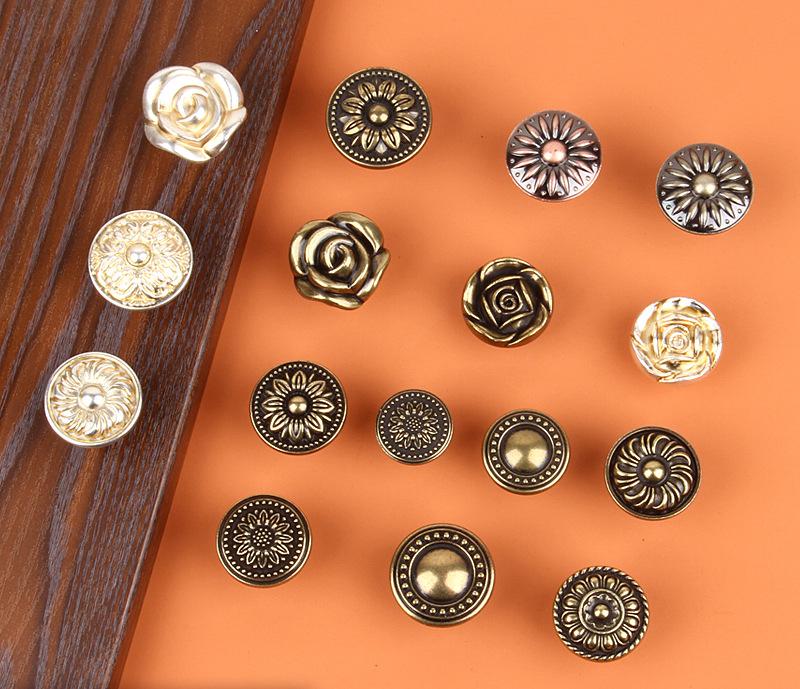 Anti Bronze Round Single Button Cabinet Door Drawer Handle Bedroom Dresser Kitchen Wardrobe Furniture Handle Knob Living Room Buy Single Hole Handle Furniture Handle Knob Furniture Handle Product On Alibaba Com