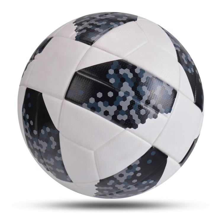 Новинка, высококачественные футбольные мячи из искусственной кожи, Размер 5