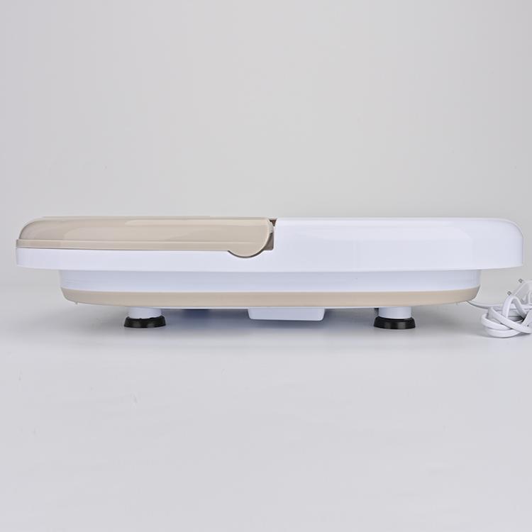 KIKI NEWGAIN Health Care Portable Relax Foldable Kneading Soaking Plastic Bucket Basin  Pedicure Foot Massager Spa Bath
