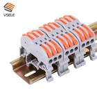 Din Connector Connector Din Connector New Design Of UK3 Din Rail Use Electrical Wire Connector Terminal Wire Connector