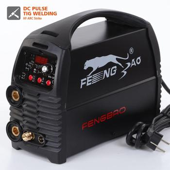 AC 220V DC inverter pulse tig stainless steel welding equipment aluminum welder with spot tig weld