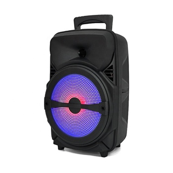 Altsvoces mobile speaker bluetooth parlantes 8 inch trolley outdoor party portable bluetooth speaker with led display