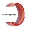 45 Orange Red