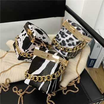 Leopard Clutch Bag Mini Small Bags Handbags Women Bags Fashion for Woman