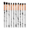 05 White marble eye brush