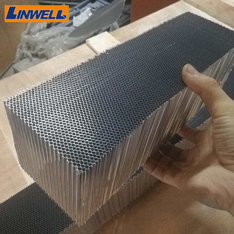 Алюминиевая сотовая сердцевина под заказ для панелей, сотовая сердцевина