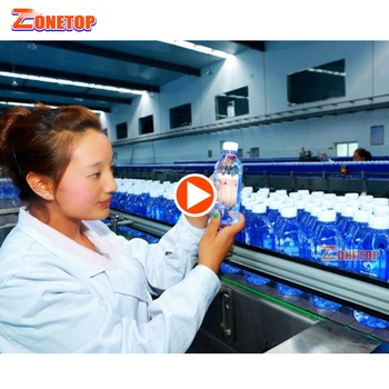FOB Guangzhou Price Automatic Small Bottle Drinking Mineral Water Bottling Plant / Bottle Water Making Machines