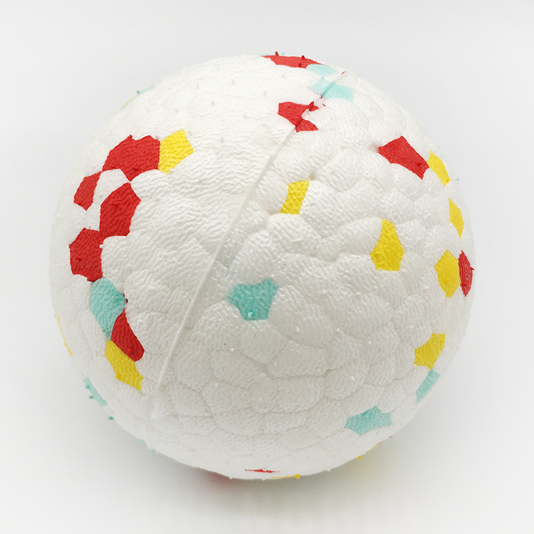 Высокий Отскок E-TPU шарики усиленный материал ПЭТ продукт мяч