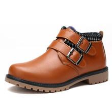 Обувь из натуральной кожи для мальчиков; Детская обувь для свадебного шоу; Школьная обувь на плоской подошве; Классический детский светильн...(China)
