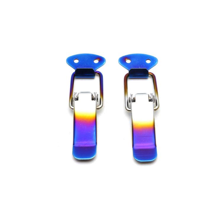 XT Car Accessories Universal Bumper Security Hook Lock Clip Kit, Auto Racing Rear Tail Box Hood Cover Lock