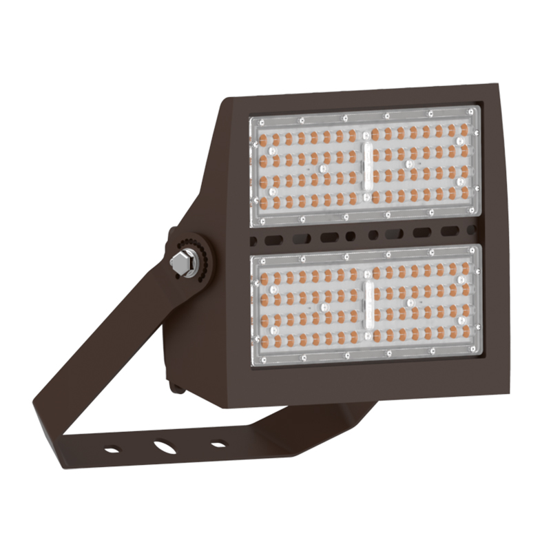 High Power 200W Outdoor Flood Light D2D with Bracket Mount