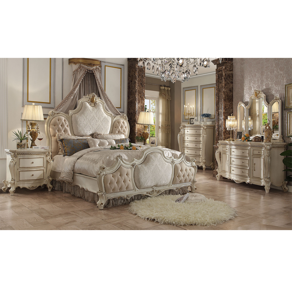 Baroque Classical King Size Bed Design Wood Master Bedroom Furniture Buy Wood Carving Bedroom Furniture Wedding Bedroom Furniture Design Wood Bedroom Furniture Product On Alibaba Com