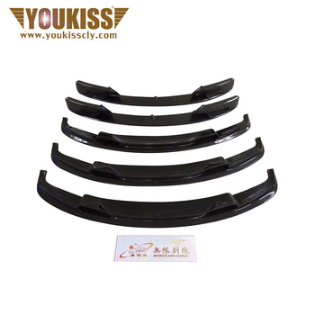 cars parts front bumper for bmw 3 series f30 f35 carbon fiber v style front lip