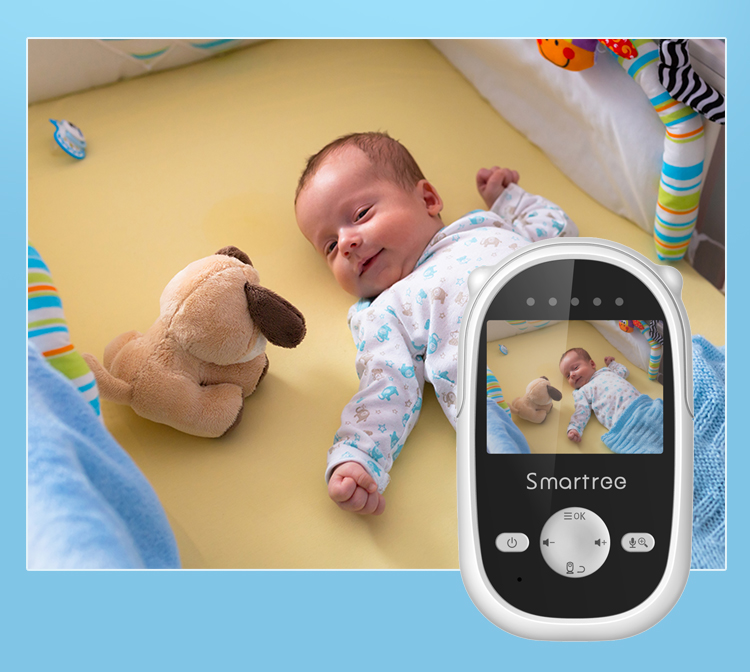 Portable factory price all in one children car night vision video camera audio WiFi baby monitor