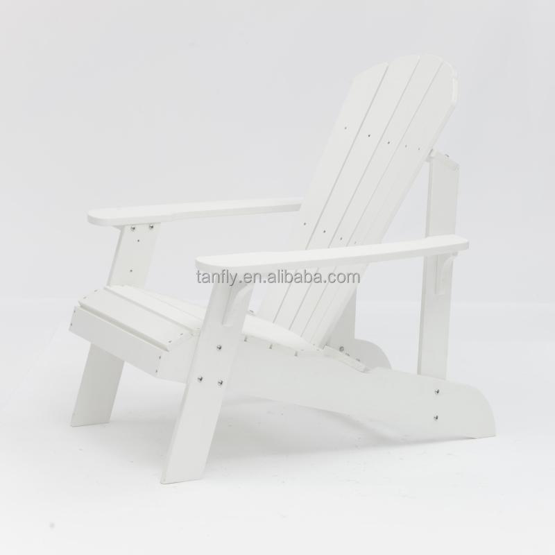 Высококачественное водонепроницаемое уличное модное пластиковое деревянное кресло Adirondack, палубный садовый стул для патио