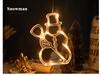 Snowman With Warm White Light