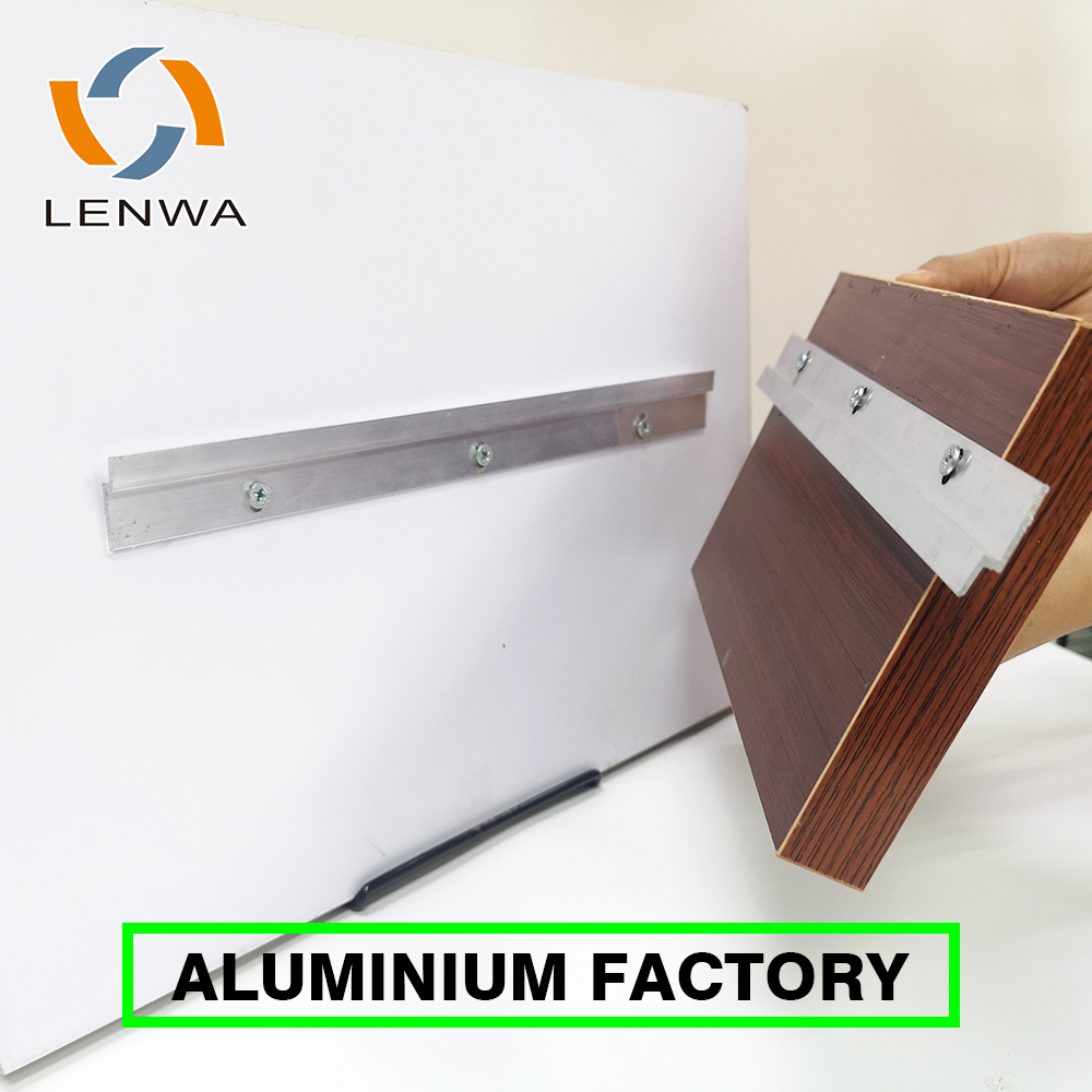 LENWA Factory Aluminum Panel Wall Clips for Wall Heavy Duty Hanging Solution