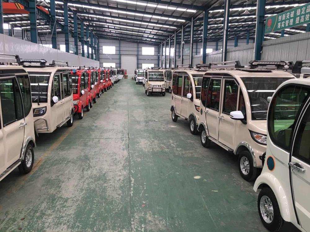 customized Cargo Use Elec car four Wheel Motorcycle for adult