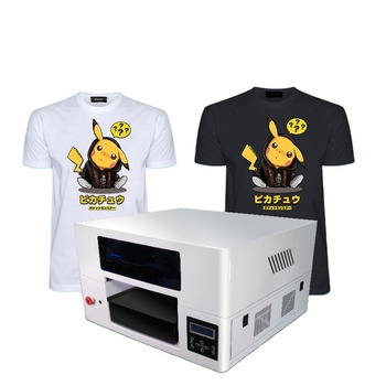 Top selling inkjet printer for t-shirt direct to garment printer A3size digital dtg printer with double print head