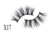 25mm mink lash--X17