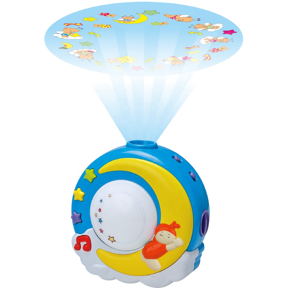 Magical Kids Soft Sleep Lullaby Musical Baby Toy Projector