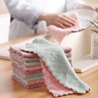 Towel Towels Kitchen Personalized Super Absorbabency Microfiber Dust Cleaning Kitchen Cleaning Towel