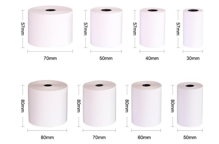 La fabrica vende papel en rollo de papel termico rollo papel impreso personalizado
