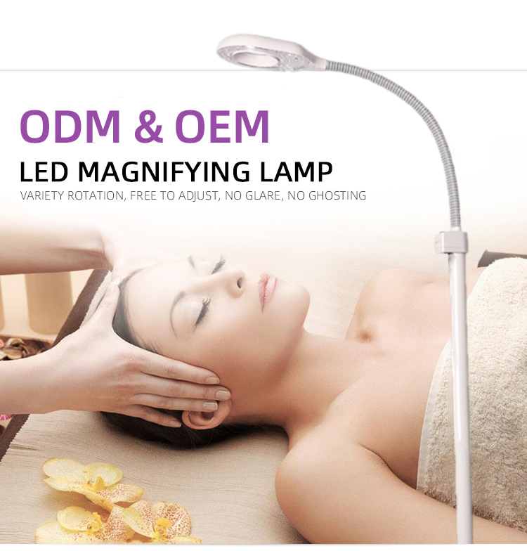 WX-102 Beauty Equipment Guangzhou Wholesale High Quality Floor LED Tattoo Light Floor Lamp Magnifying Leds Lights For Tattoo