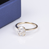 1.5CT DEF  OVAL MOISSANITE