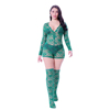 LS005(lace onesie with socks)