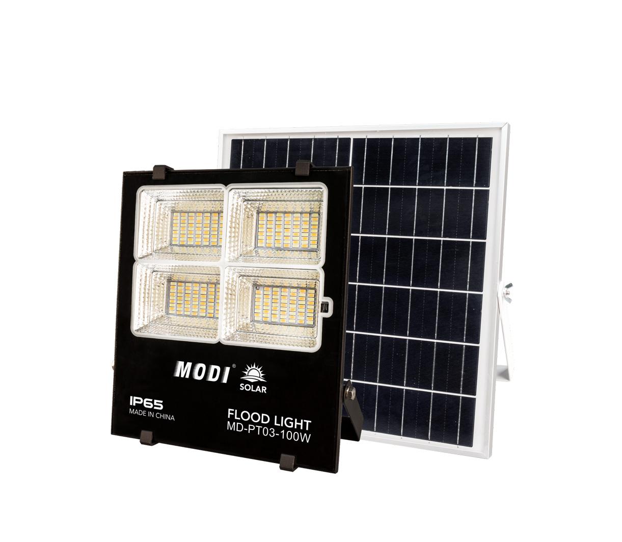 Bspro Company 100w solar led flood light outdoor solar flood light led withnew design solar and wind street lights