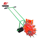 Wheat Seed Drill TIANSHENG Manual Ox Corn Maize Wheat Soybean Planter Sowing Machinery Manual Seed Drill