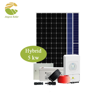 China Panel Solar Wholesale 5KW 10KW 15KW Solar Energy System Build Your Own Solar Panel