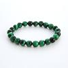 Green Tiger Eye Stone Beads