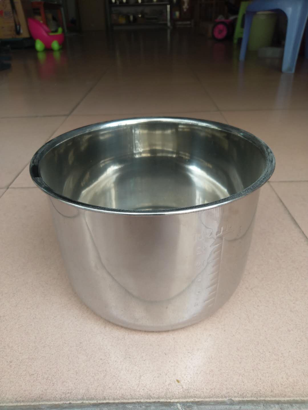 Capacity 8L Liter 8Q R08 Quart OEM Power Sales Color Material Electric Stainless Steel Household Inner Pot For Pressure Cooker