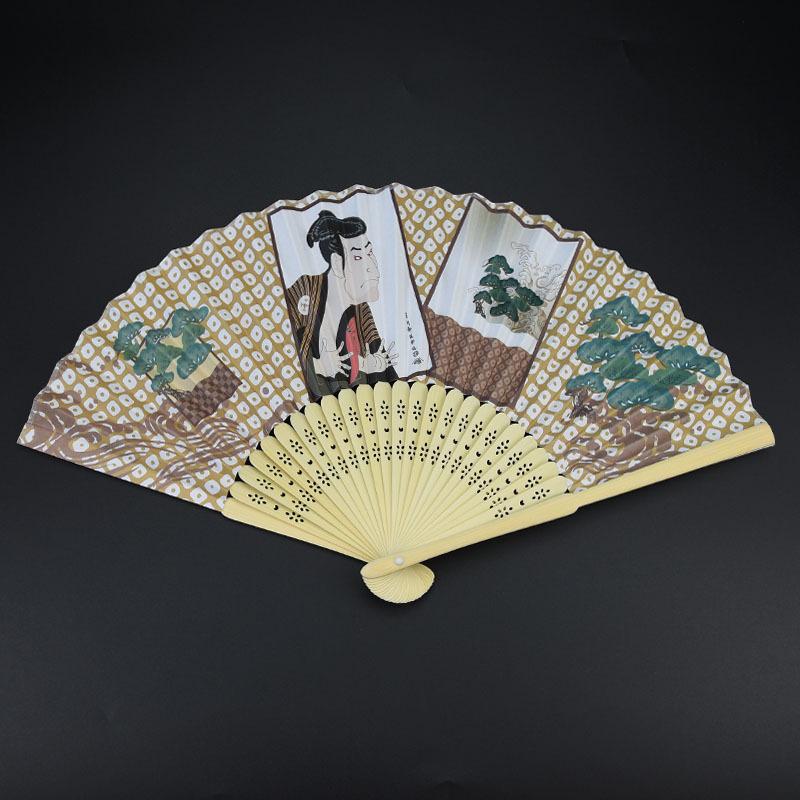 Высококачественный персонализированный модный напечатанный бамбуковый Ручной Веер для рекламы или мероприятия