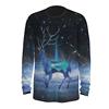 deer print long t