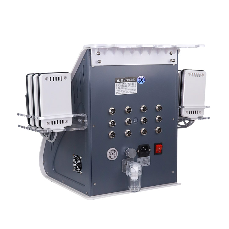 Multifunctional 6 In 1 Kim 8 40K RF Vacuum Cavitation System Slimming Machine Lipo Laser Body S Shaping Beauty Equipment