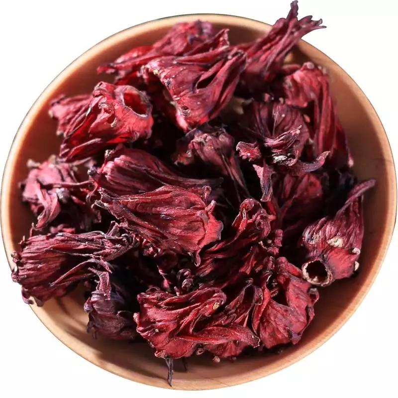 Organic Red Color dried hibiscus flowers - 4uTea | 4uTea.com
