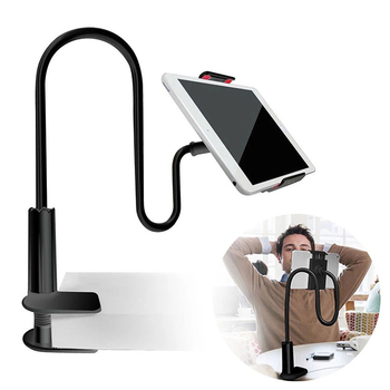 Hands-free Viewing Adjustable Lazy Holder Phone Mount For iPad Universal Tablet Holder Gooseneck Phone Holder