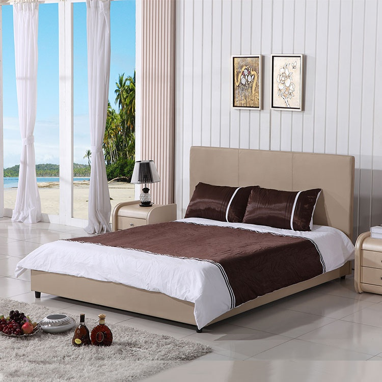 easy to master soft bed frame Fabric storage leather bed modern kid soft bed with storage furniture